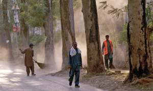 Islamabad's sanitation workers struggle to make ends meet