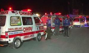 Eight killed in Khuzdar highway accident