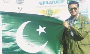Fakhre Alam claims flying around the world solo