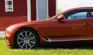 Test driving the majestic Bentley Continental GT