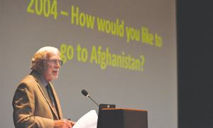 Book detailing story of Kabul hospital launched
