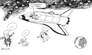 Cartoon: 8 November, 2018