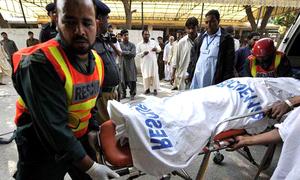 وادی نیلم میں جیپ کھائی میں گرنے سے 3 بچے جاں بحق