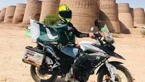 Here's how PSO fueled Guliafshan Tariq's biking journey across Punjab