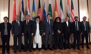 Peace talks in Moscow 'not about holding negotiations', say Taliban
