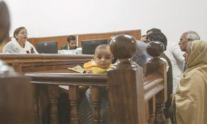 In a first, evening court begins hearing family cases