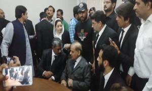 آشیانہ ہاؤسنگ اسکینڈل: شہباز شریف کے جسمانی ریمانڈ میں مزید 14 روز کی توسیع