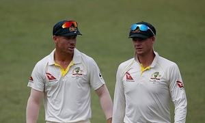 Smith, Warner play together for first time since ban