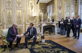 Trump in Paris slams Macron's 'insulting' EU army proposals