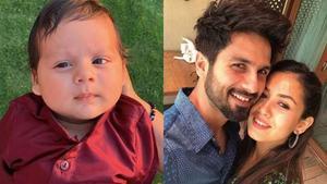 Meet Shahid Kapoor and Mira Rajput's son, Zain