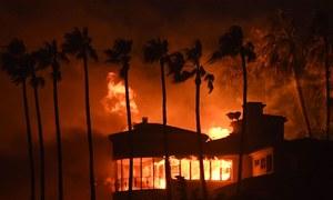 کیلیفورنیا کے جنگلات میں خطرناک آگ نے تباہی پھیلادی