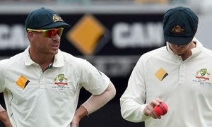 Smith, Warner in action together for first time since ban