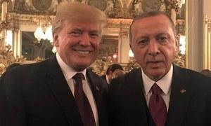 پیرس: جمال خاشقجی کے قتل کا معاملہ، امریکی اور ترک صدور کی ملاقات