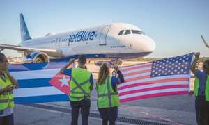 JetBlue launches service from Boston to Havana