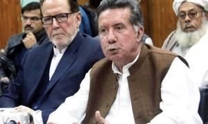 ANP suspends party membership of Khattak, Gohar for 'causing unrest'
