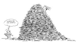 Cartoon: 13 November, 2018