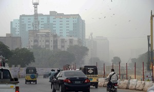 Smog to blanket Karachi for next couple of days, says regional met official