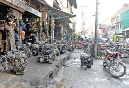 Civic authorities, police 'unmoved' by congestion, encroachments