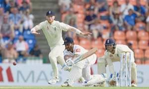 Stubborn Silva helps Sri Lanka gain lead in second Test