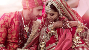 Bollywood couple Deepika Padukone and Ranveer Singh release much-awaited wedding photos