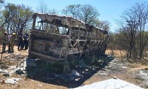 زمبابوے: بس میں دھماکا، 42  افراد ہلاک