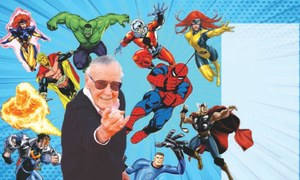 Stan Lee Thanks for the marvellous ride