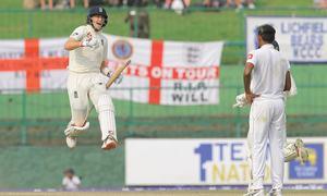 Root century gives England upper hand against Sri Lanka