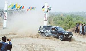 First round of Thal Jeep Rally ends