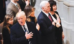 Pence quashes Trump rift reports