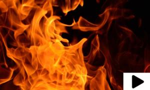 کراچی میں تولیہ فیکٹری میں خوفناک آتشزدگی