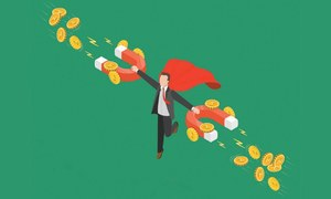 Rising corporate profitability