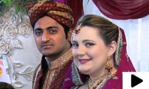 محبت میں گرفتار امریکی لڑکی کا لاہور پہنچ کر محسن سے شادی