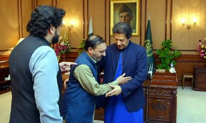 PM Khan meets SP Dawar's brother and son, promises 'all possible assistance' to family