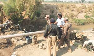 Major operation against irrigation water theft launched