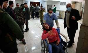 Syria regime accuses armed groups of 'toxic gas' attack