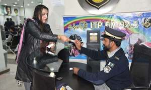 Islamabad police issue driving licence to transgender person