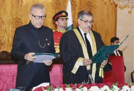 Justice Athar Minallah sworn in as IHC CJ