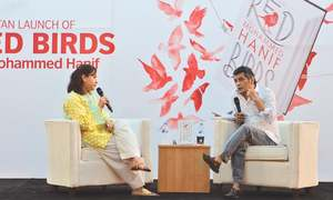 Mohammed Hanif's novel Red Birds launched