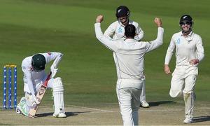 New Zealand reach 26-2, limit Pakistan's lead to 74 in final Test