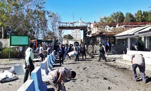 Suicide car bombing at police headquarters kills 3 in Iran's Chabahar port city