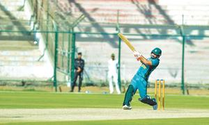 Ilyas hat-trick, tons for openers as Pakistan down HK