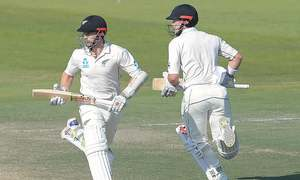 Yasir, Williamson share honours  as Test heads for pulsating finish