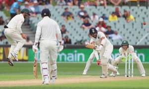 India take command of Adelaide Test