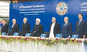 Iran seeks regional front against US 'economic terrorism'