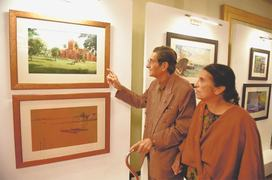 Art, coins, stamps give glimpse of Bangladesh
