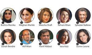 Bushra Manika was Pakistan's most googled person in 2018