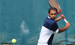 Double setback for Aqeel at ITF event