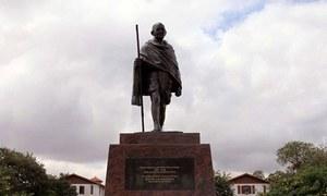 گھانا کی یونیورسٹی سے مہاتما گاندھی کا مجسمہ ہٹادیا گیا