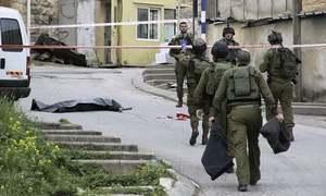 Palestinians kill two Israeli troops; two Hamas fighters shot dead