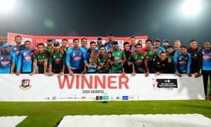 بنگلہ دیش نے ویسٹ انڈیز کےخلاف ایک روزہ میچز کی سیریز بھی جیت لی